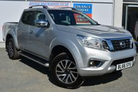 USED 2016 66 NISSAN NAVARA 2.3 DCI TEKNA 4X4 5 Seat Double Cab Pickup with Massive High Spec inc Side Steps Stunning Alloys Privacy Glass Sat Nav Heated Leather Seats Rear Camera Parking Sensors DAB Radio CD Multi Changer and much more  PERFECT WORK PICK UP