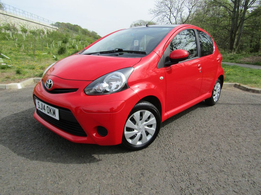 USED 2014 14 TOYOTA AYGO 1.0 VVT-I MOVE 5d 68 BHP LOW ROAD TAX