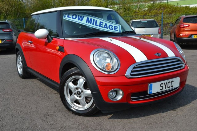 USED 2007 07 MINI HATCH COOPER 1.6 COOPER 3d 118 BHP FULL SERVICE RECORDS ~ 2 KEYS  ~ 6 MONTHS WARRANTY & BREAKDOWN COVER