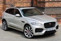 USED 2016 66 JAGUAR F-PACE 3.0 TD V6 S (AWD) 5dr BLACK PACK-PANROOF- 22'ALLOYS
