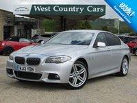 USED 2013 13 BMW 5 SERIES 2.0 520D M SPORT 4d AUTO 181 BHP 50+MPG Luxury Saloon