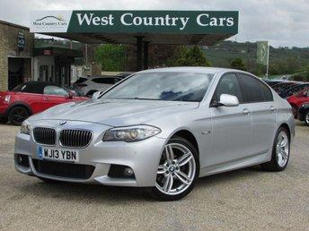 2013 BMW 5 SERIES 2.0 520D M SPORT 4d AUTO 181 BHP £14000.00