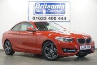 2014 BMW 2 SERIES 2.0 218D DIESEL SPORT 141 BHP £10990.00
