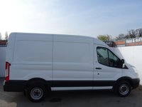 USED 2014 64 FORD TRANSIT 2.2 290 SHR P/V 1d 124 BHP FORD TRANSIT L2 H2 LOW MILES SECURITY LOCKS ALL ROUND