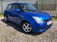 2007 SUZUKI SWIFT VVTS GLX 1490CC Petrol £2679.00