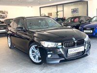 USED 2014 64 BMW 3 SERIES 2.0 320D M SPORT TOURING 5d AUTO 181 BHP M PERFORMANCE STYLING+BIG SPEC