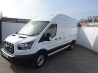 USED 2018 18 FORD TRANSIT 2.0 350 L3 H3 P/V 1d 129 BHP FORD TRANSIT 350 EURO 6 LWB HIGH ROOF LOW MILES