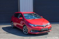 USED 2015 15 TOYOTA AURIS DESIGN 1.2VVTI 5dr 114BHP Touch Screen, Reverse Cam, DAB High Spec, Practical and efficient car to suit all drivers