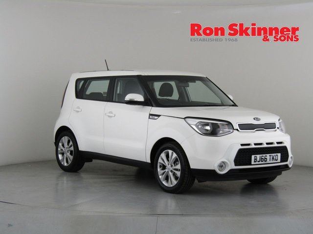 View our 2016 66 KIA SOUL 1.6 CRDI CONNECT 5d 134 BHP