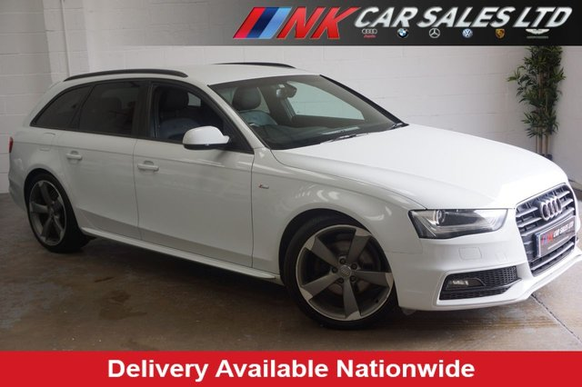 2012 AUDI A4 AVANT AUDI A4 sline  AVANT BLACK EDITION TDI  SOLD TO LEE FROM SALFORD