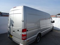 USED 2014 14 MERCEDES-BENZ SPRINTER 2.1 313 CDI LWB 1d 129 BHP MERCEDES SPRINTER LWB FULLY COLOUR CODED AIR CON PLY LINED DAY RUNNING LIGHTS MAKE GREAT DAY VAN/CAMPER