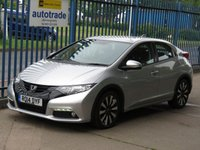 USED 2014 14 HONDA CIVIC 1.8 I-VTEC SE PLUS 5d Rear camera DAB Front & rear park  Finance arranged Part exchange available Open 7 days
