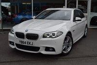 2015 BMW 5 SERIES 2.0 520D M SPORT 4d AUTO 188 BHP £16890.00