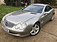 2004 MERCEDES-BENZ SL 5.0 SL500 2d AUTO 302 BHP £8495.00