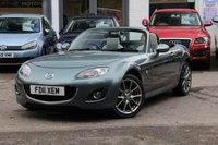 USED 2011 11 MAZDA MX-5 1.8 I KENDO 2d 125 BHP CONVERTIBLE FULL HEATED LEATHER ** AIR-CON ** IPOD CONNECTION **