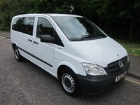 2013 MERCEDES-BENZ VITO 2.1 113 CDI TRAVELINER 5d AUTOMATIC 136 BHP, 8 SEATS* £8250.00