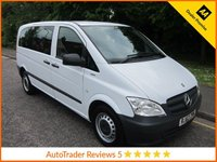 USED 2013 62 MERCEDES-BENZ VITO 2.1 113 CDI TRAVELINER 5d AUTOMATIC 136 BHP, 8 SEATS* Great Value Mercedes Vito Minibus with Automatic Gearbox and Eight Seats