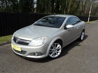 2007 VAUXHALL ASTRA 1.8 TWIN TOP DESIGN 3d 140 BHP £1988.00
