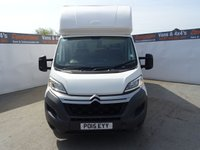 USED 2015 15 CITROEN RELAY 2.2 35 L3 HDI 1d 129 BHP CITROEN RELAY LUTON EXTENDED BODY TAIL LIFT LOW MILES !!!!!