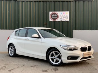2017 BMW 1 SERIES 1.5 116D ED PLUS 5d 114 BHP £12995.00
