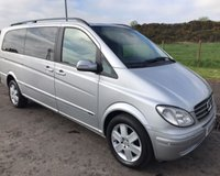 USED 2007 07 MERCEDES-BENZ VIANO 2.1 CDI EXTRA LONG AMBIENTE 66 SEATER 5d 150 BHP 6 MONTHS PARTS+ LABOUR WARRANTY+AA COVER