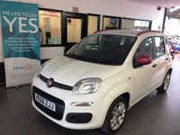 USED 2017 66 FIAT PANDA 1.2 EASY 5d 69 BHP New shape finished in White, Fitted with air conditioning & Bluetooth/media. At £30 tax per year,  makes this 5 door Panda an ideal car for economical family motoring. Nothing requires body shop attention and has not been smoked in. Will average around 50 MPG,  2 Keys. Its been serviced fully by FIAT. It will be supplied with 6 months RAC warranty (which can be extended) and a service. Tax is only £30 per year!  Finance is available. For more information please visit www.xways.co.uk.