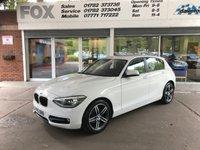 2015 BMW 1 SERIES 1.6 116I SPORT 5d 135 BHP £10995.00