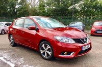 USED 2016 16 NISSAN PULSAR 1.5 DCI ACENTA 5d WITH SAT NAV AND SERVICE HISTORY  NO DEPOSIT  PCP/HP FINANCE ARRANGED, APPLY HERE NOW
