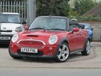 2005 MINI CONVERTIBLE 1.6 COOPER S 2d AUTO 168 BHP £3495.00