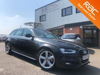 USED 2012 62 AUDI A4 2.0 AVANT TFSI S LINE 5d AUTO 208 BHP FRONT AND REAR PARKING SENSORS | START STOP | AUTOMATIC LIGHTS | CRUISE CONTROL | DAB | BLUETOOTH | SAT NAV | DUAL CLIMATE CONTROL