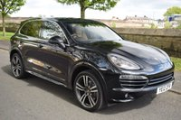 USED 2012 12 PORSCHE CAYENNE 3.0 D V6 TIPTRONIC 5d AUTO 245 BHP SERVICE HISTORY, SATELLITE NAVIGATION, BLUETOOTH, BIG ALLOYS, POWER TAILGATE, REAR PRIVACY GLASS