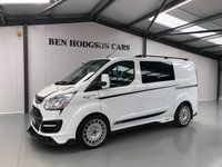 2016 FORD TRANSIT CUSTOM M SPORT 181 EDITION MS-RT CREW VAN KOMBI £29995.00