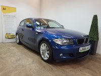 USED 2010 10 BMW 1 SERIES 2.0 116I M SPORT 3d AUTO 121 BHP FULL SERVICE HISTORY+AIRCON
