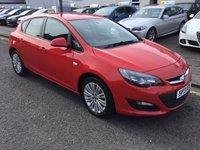 USED 2013 13 VAUXHALL ASTRA 1.4 ENERGY 5d 98 BHP OUR  PRICE INCLUDES A 6 MONTH AA WARRANTY DEALER CARE EXTENDED GUARANTEE, 1 YEARS MOT AND A OIL & FILTERS SERVICE. 6 MONTHS FREE BREAKDOWN COVER. CALL US NOW FOR MORE INFORMATION OR TO BOOK A TEST DRIVE ON 01315387070 !!