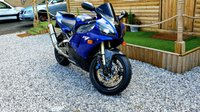 USED 1998 YAMAHA YZF 998cc YZF R1  Here we have an appreciating Retro R1, done only 17 k from new in blue, with brand new Michelin Pilot radical tyres just fitted, 2 keys, spare raised footrests, Carbon hugger , frame and heel guards, Carbon frame protectors, Akropovic exhaust,Dyno Jetted with printout  150 bh.@ 9600 RPM  Galfer front wavy discs, just had a full service with EXUP valve clean and ultrasonic carb clean with all new oils and fuel filter and brake fluid. clean and tidy example and is becoming an appreciating classic.
