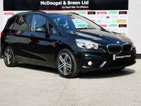 2015 BMW 2 SERIES 1.5 218I SPORT GRAN TOURER 5d 134 BHP £12999.00
