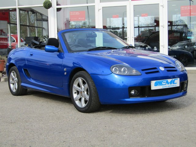 2002 02 MG TF 1.8 120 STEPSPEED 2d AUTO 119 BHP