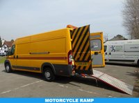 USED 2008 08 FIAT DUCATO 2.3 MAXI 35 MULTIJET 120 BHP L4 H2 XLWB MOTORCYCLE RECOVERY/TRANSPORTER 1 OWNER+ ONLY 33K+ BIKE RAMP+