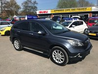 2009 HONDA CR-V 2.2 I-CTDI EX 5d 139 BHP IN METALLIC BLUE WITH 64000 MILES WITH A HUGH SPEC IN GREAT CONDITION. £6999.00