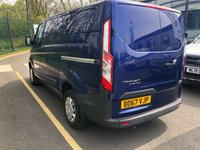 USED 2017 67 FORD TRANSIT CUSTOM 2.0 290 TREND LR P/V 1d 104 BHP All Vehicles with minimum 6 months Warranty, Van Ninja Health Check and cannot be beaten on price!