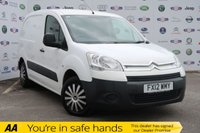 USED 2012 12 CITROEN BERLINGO 1.6 625 LX L1 HDI 1d 74 BHP NO VAT, 3 SEAT, FULL HISTORY