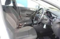 USED 2013 63 FORD FIESTA 1.0 ZETEC 5d 79 BHP PETROL WHITE GENUINE LOW MILEAGE + GOOD SERVICE HISTORY
