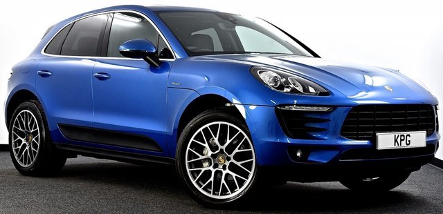 USED 2015 15 PORSCHE MACAN 3.0 TD V6 S PDK AWD 5dr £8k Extra's, Pan Roof, PCM Nav
