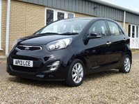 USED 2013 13 KIA PICANTO 1.2 2 5d AUTO 84 BHP www.suffolkcarcentre.co.uk - Located at Reydon