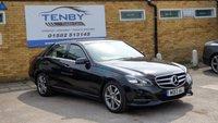 2013 MERCEDES-BENZ E CLASS 2.1 E220 CDI SE 4d AUTO 168 BHP £9984.00