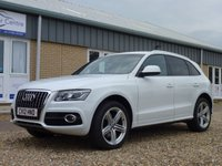 USED 2012 12 AUDI Q5 3.0 TDI QUATTRO S LINE SPECIAL EDITION 5d AUTO 240 BHP www.suffolkcarcentre.co.uk - Located at Reydon