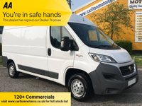 USED 2017 66 FIAT DUCATO 35 MULTIJET II 2.2HDi 130 MWB HIGH ROOF VAN Euro-6