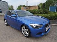 2012 BMW 1 SERIES 2.0 120D M SPORT 5d 181 BHP £8790.00