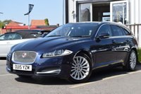 USED 2015 15 JAGUAR XF 2.2 D LUXURY SPORTBRAKE 5d AUTO 200 BHP STUNNING CAR WITH FULL JAGUAR SERVICE HISTORY INCLUDING 5 SERVICE STAMPS, WE ALSO HAVE 2 KEYS