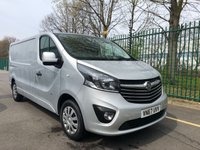 USED 2018 67 VAUXHALL VIVARO 1.6 L2H1 2900 SPORTIVE CDTI 1d 120 BHP LWB All Vehicles with minimum 6 months Warranty, Van Ninja Health Check and cannot be beaten on price!